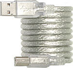 High Speed USB 2.0 Cable, Type A (M) to Type B (M)
