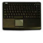 Slim Touch Mini Keyboard with Built-in Touchpad, B