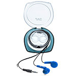 JVC Earbud Headphones, Blue HAF10CA