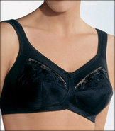 38A Sera Two Pocket Lined Cup Prosthesis Bra - Bla